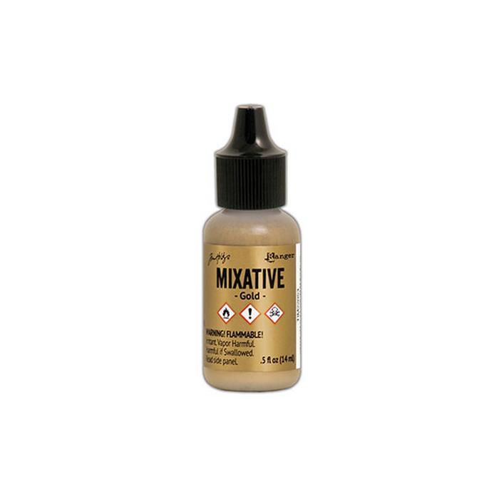 Alcohol Ink Metallic Mixative - Gold