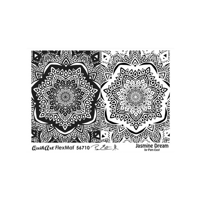 Pam East FlexMat Texture Stamp - Jasmine Dream