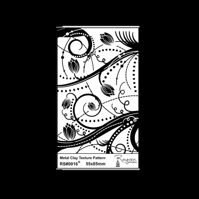 RS Laser Texture Paper - Floral Dots