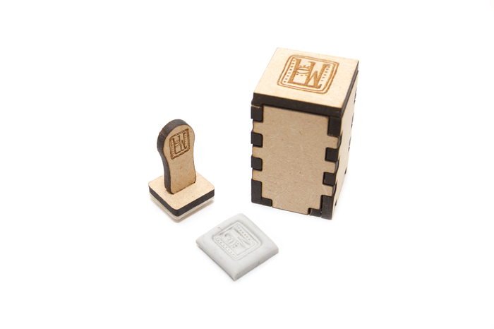 *Custom Signature Stamp for your logo or maker's mark - Large