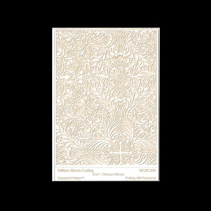 RMR Laser Texture Paper - William Moris Ceiling - 76 x 102mm