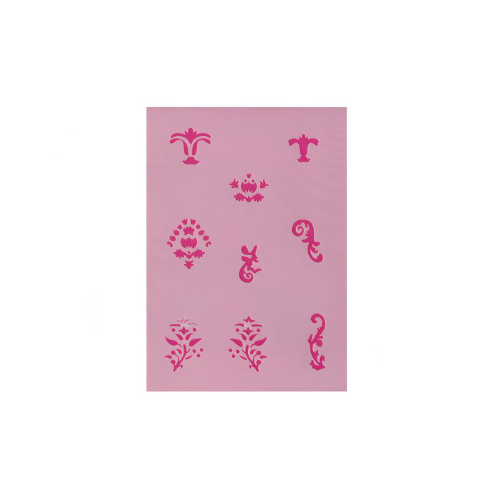 Efcolor Stencil Sheet - Ornaments - 9