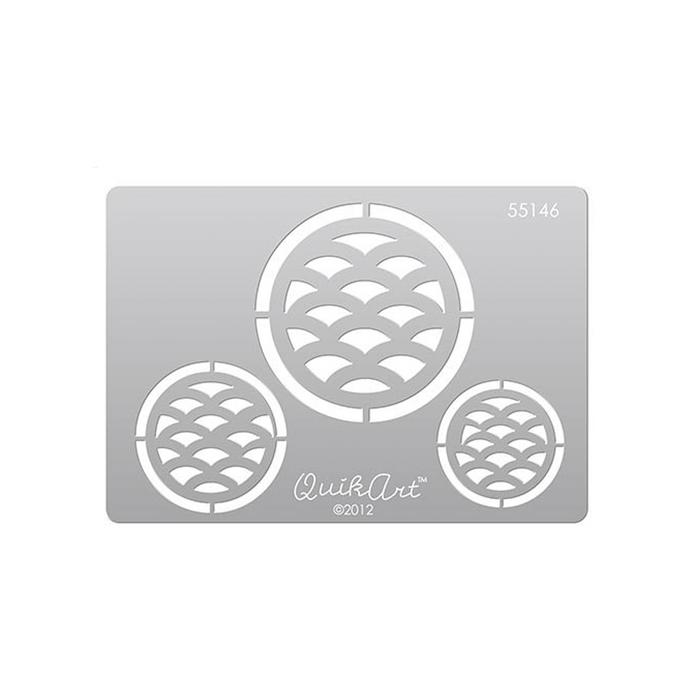 QuikArt Clay Saving Template - #55146