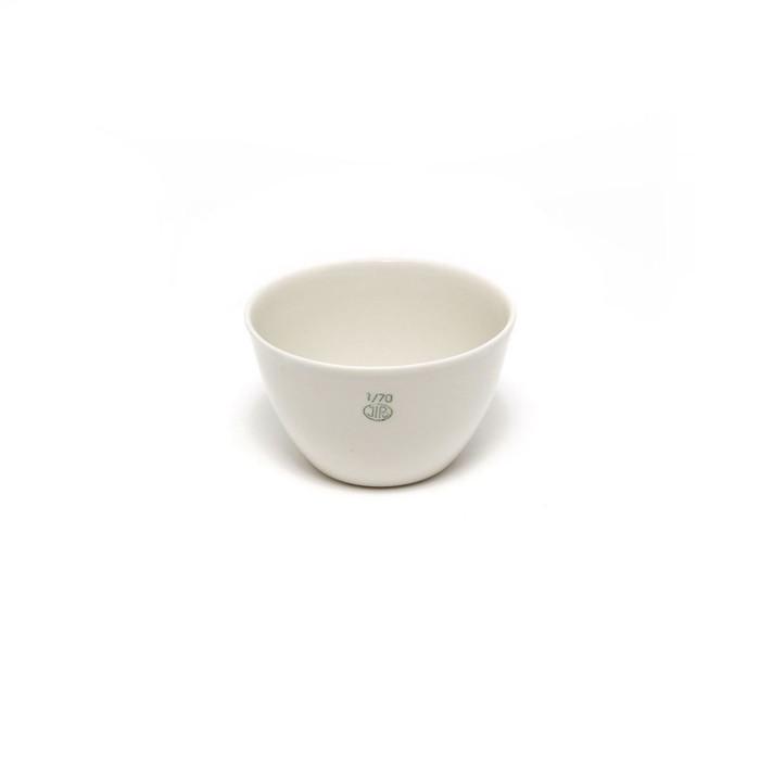 Firing Dish - Small Porcelain 70 x 44mm