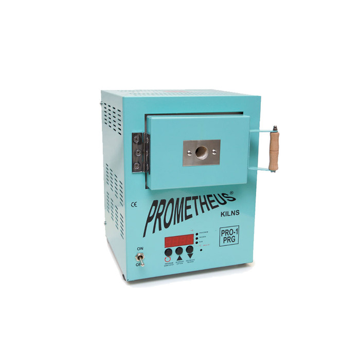 Prometheus Programmable Mini Kiln PRO-1 PRG - Exclusive Signature Teal