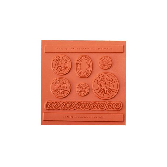 Wanaree Tanner Signature Texture Plate - Special Edition Celtic Phoenix