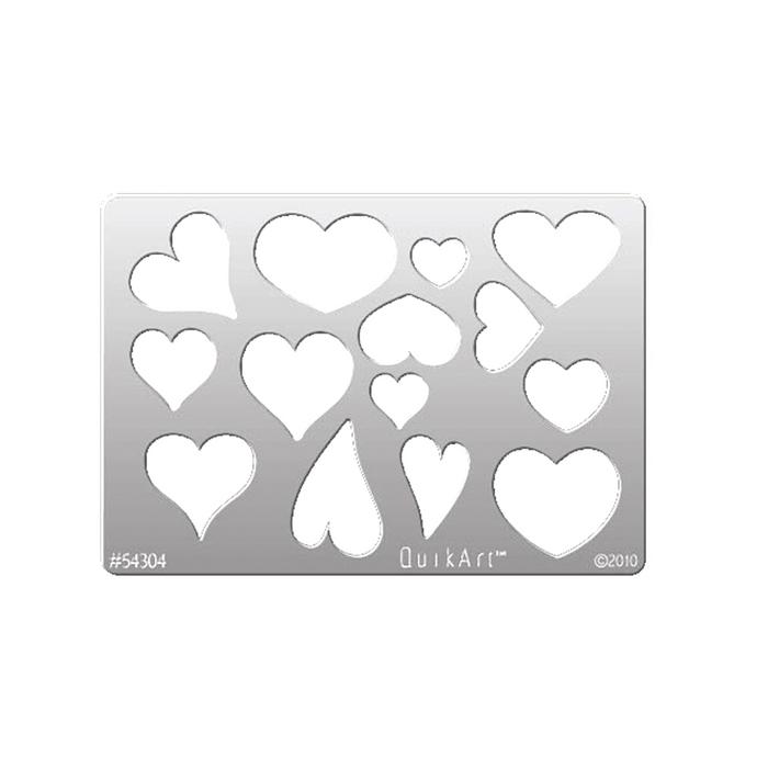 QuikArt Template - Whimsical Hearts