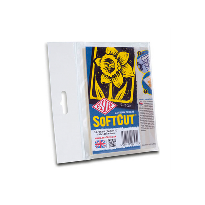 SoftCut Carving Blocks - Pack of 2