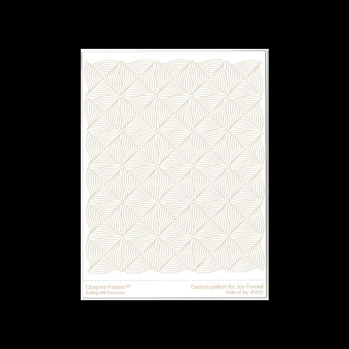 RMR Laser Texture Paper - Quilts of Joy - 102 x 127mm