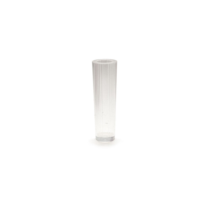Silicone Resin Mould - Tube Faceted Cylinder