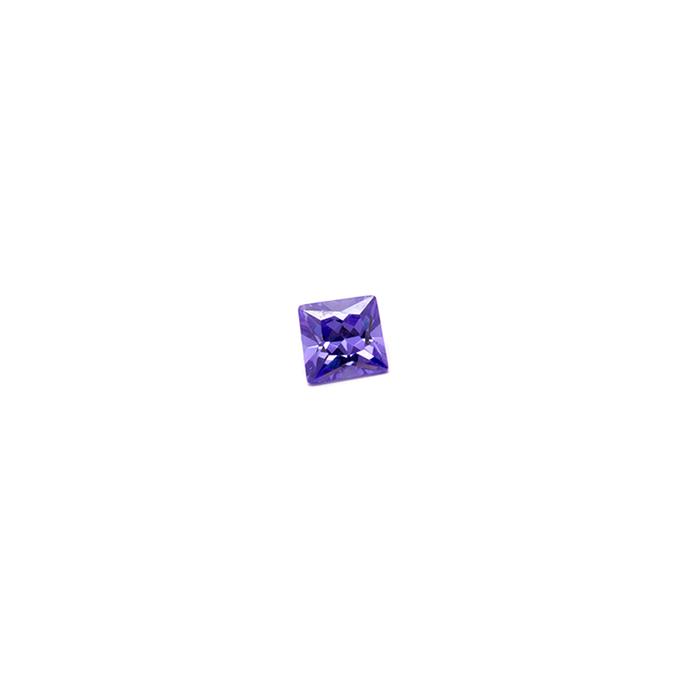 Lab Created Gemstone - Violet Square