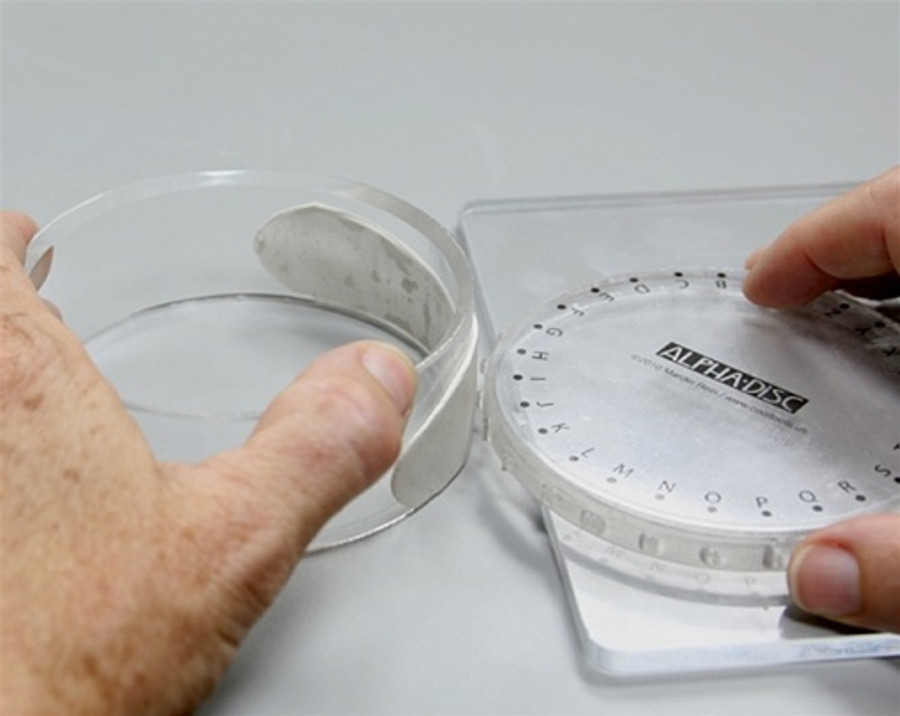 Disc in use.