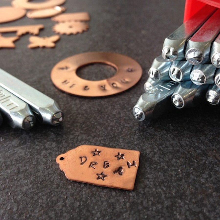 Metal Stamp Set - Scarlett's Signature Lowercase 2.5mm