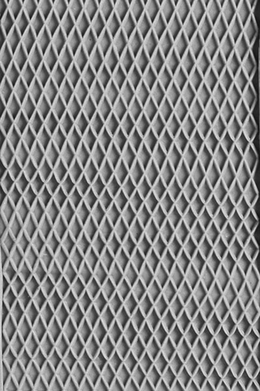 Large Acrylic Texture Roller - Little Diamonds 7.5cm