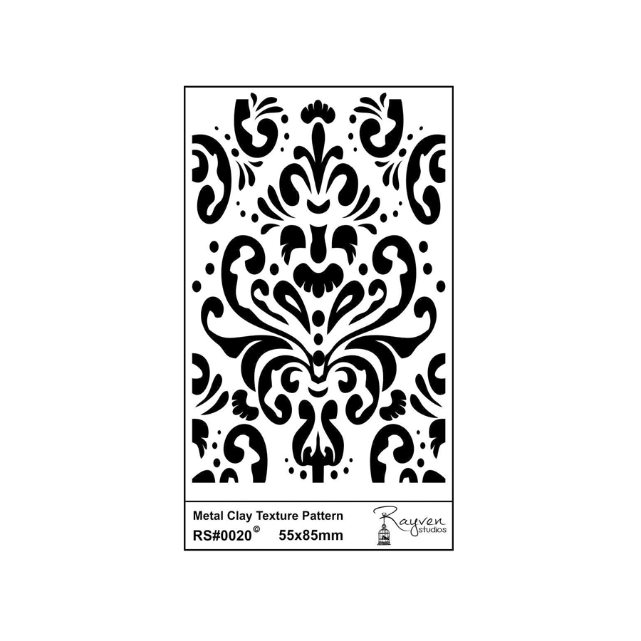 RS Laser Texture Paper - Damask