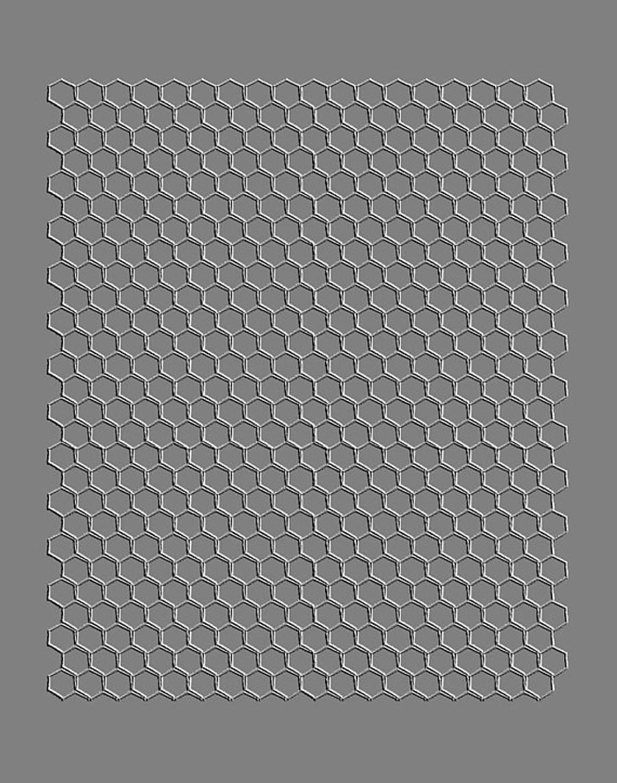 RMR Laser Texture Paper - Honey Comb - 76 x 102mm