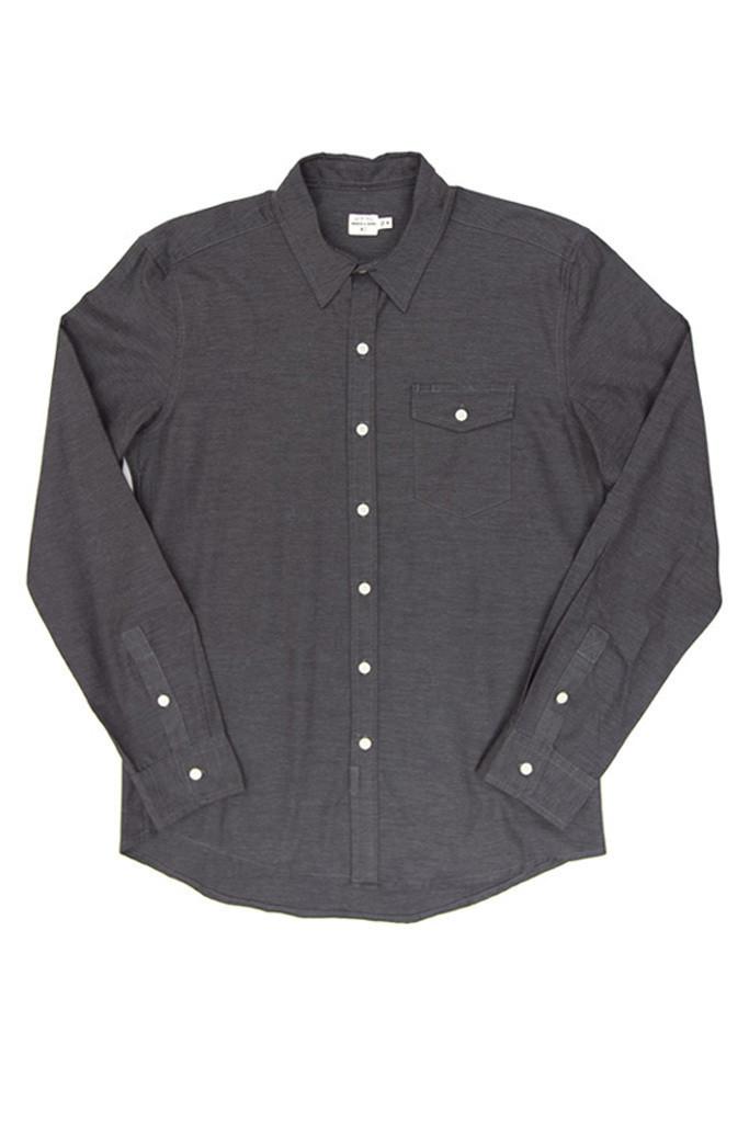 Clinton Dark Gray Shirt