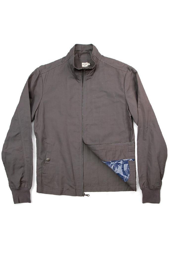Hayden Grey Linen Jacket