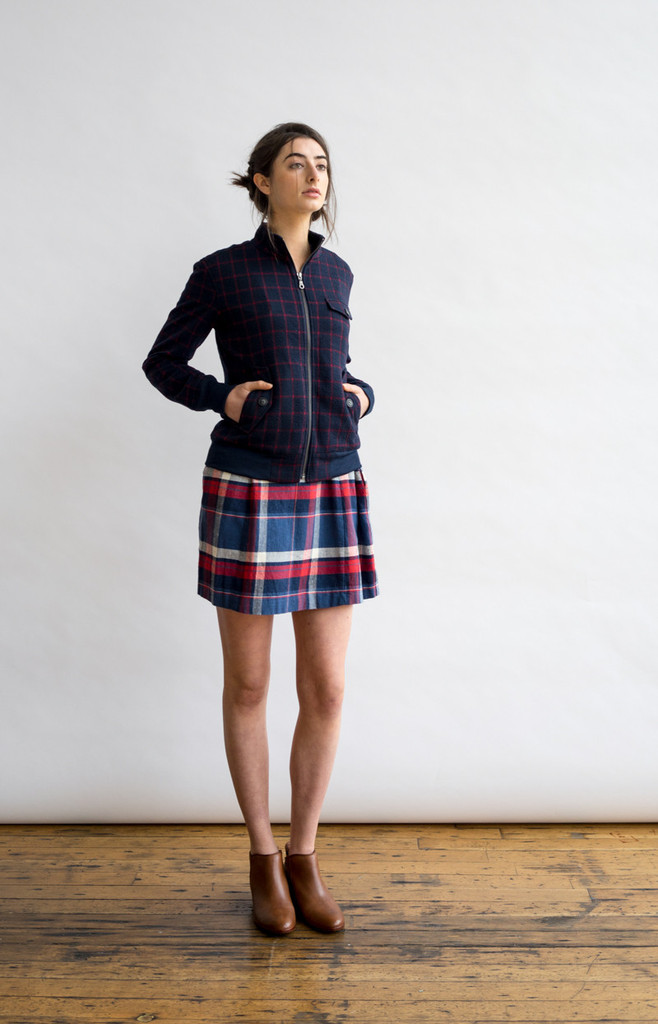 Straat Plaid Jacket
