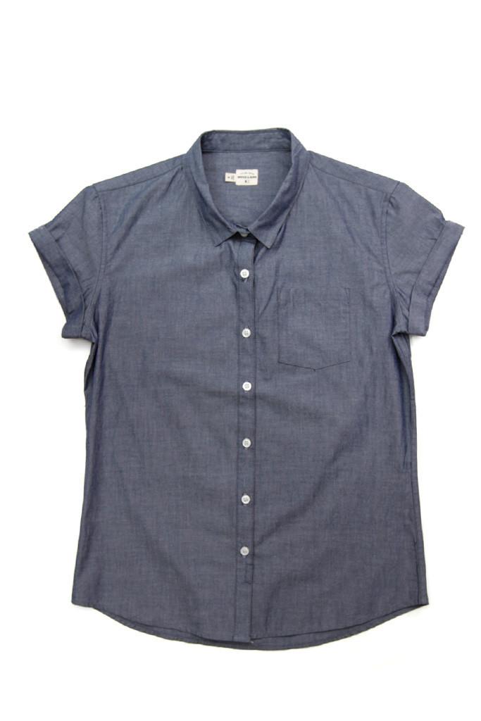 Bea Blue Chambray Shirt