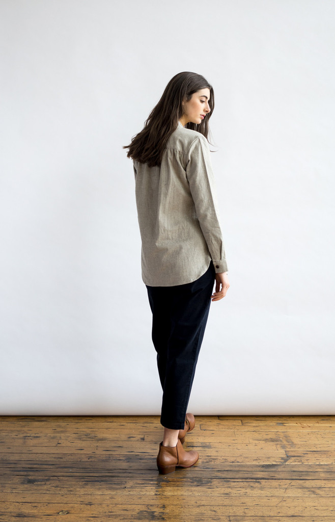 Isabel Ash Grey Shirt