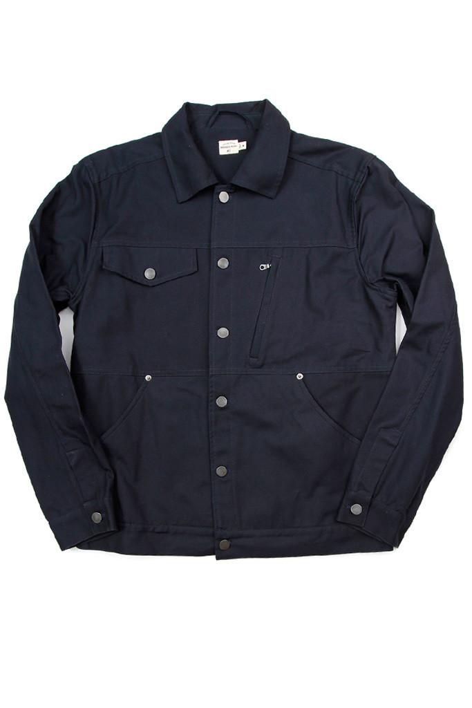 Knoll Navy Canvas Jacket