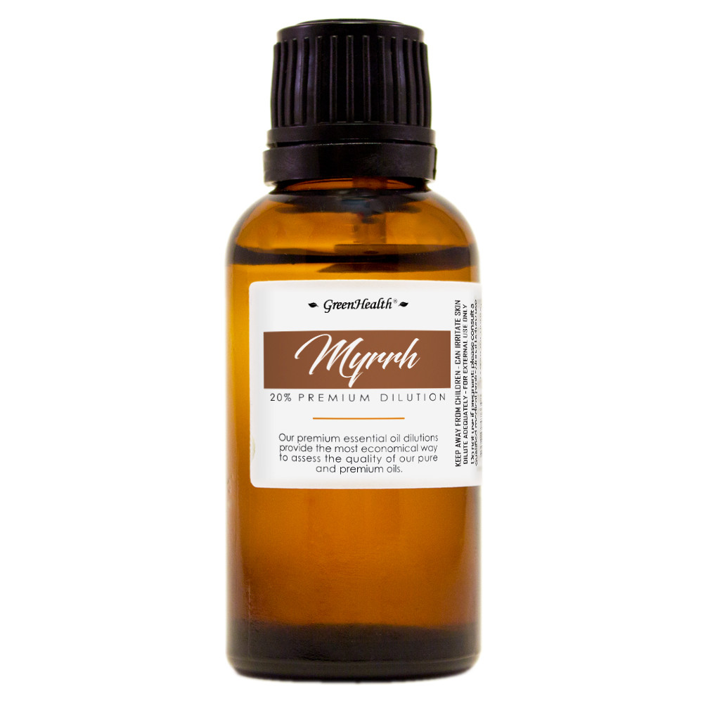 1 fl oz (30ml) Myrrh 20%