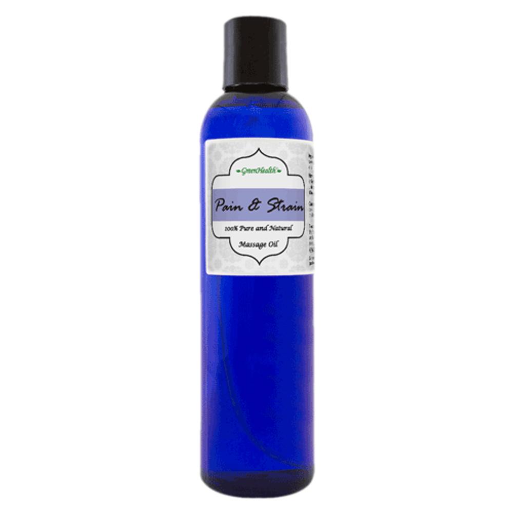 8oz Pain & Strain Massage Oil