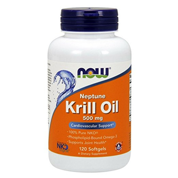 Neptune Krill Oil, 500 mg (120 Sgels) - NOW Foods