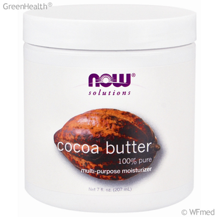 NOW Foods - Cocoa Butter Cream, 7 oz