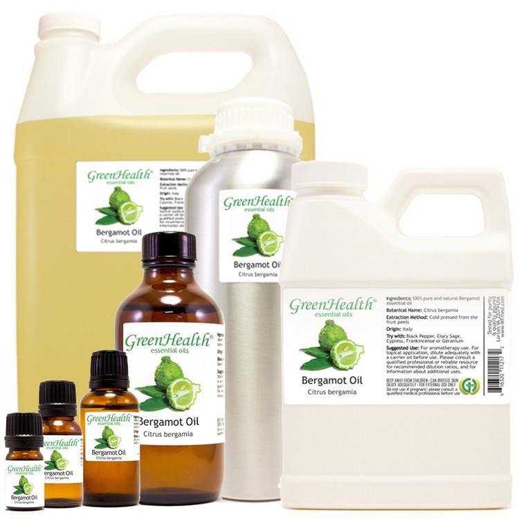 bergamot oil citrus bergamia 5ml 10ml 15ml 1oz 2oz 4oz 8oz 16oz 32oz