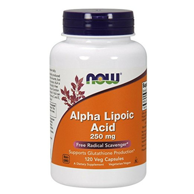 Alpha Lipoic Acid 250 mg - 120 Vcaps®