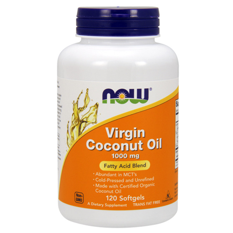 Virgin Coconut Oil 1000 mg - 120 Softgels