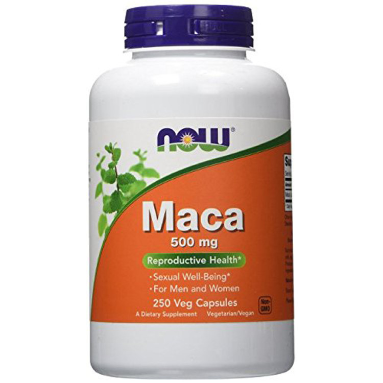 Maca, 500 mg (250 Caps) - NOW Foods