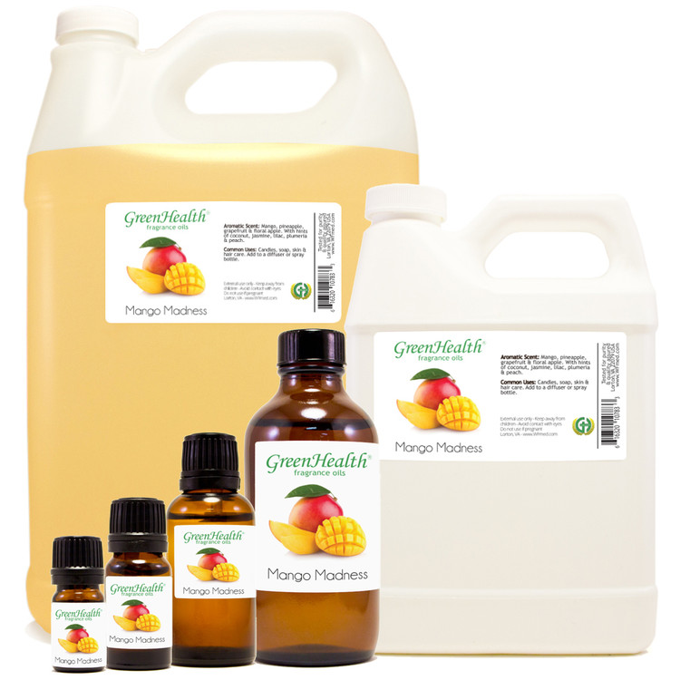 Mango Madness Fragrance Oil 10ml 1oz 2oz 4oz 8oz 16oz 32oz