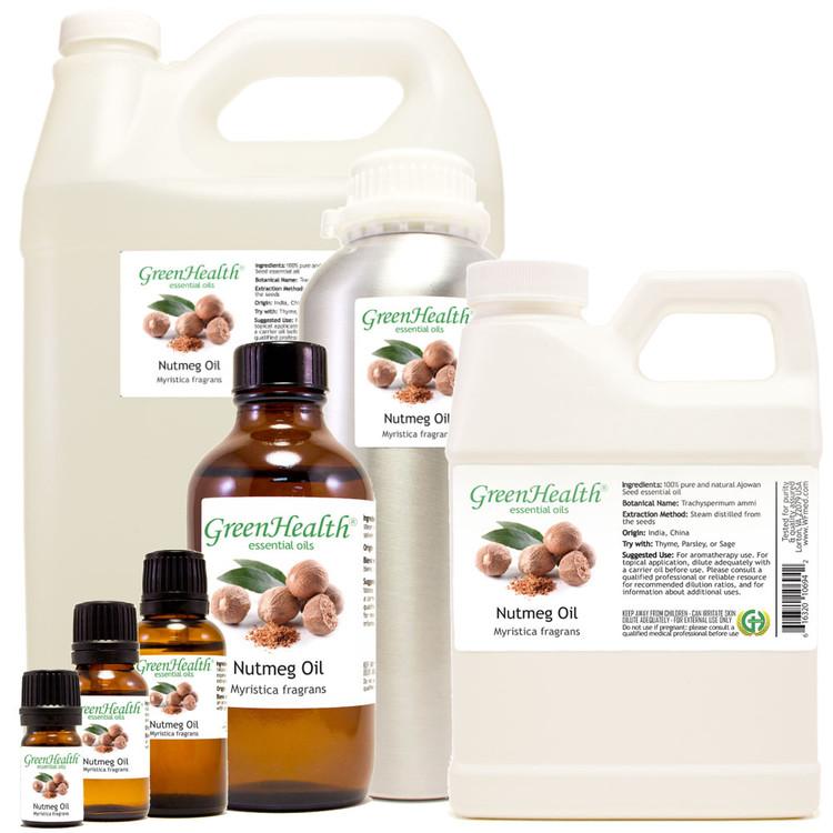 100% Pure Nutmeg oil Myristica fragrans