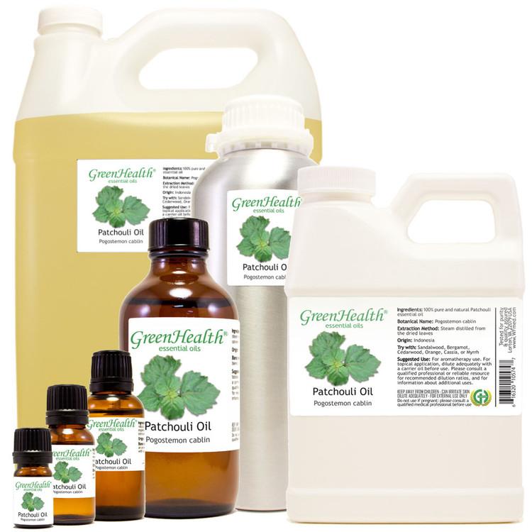 100% pure patchouli oil pogostemon cablin