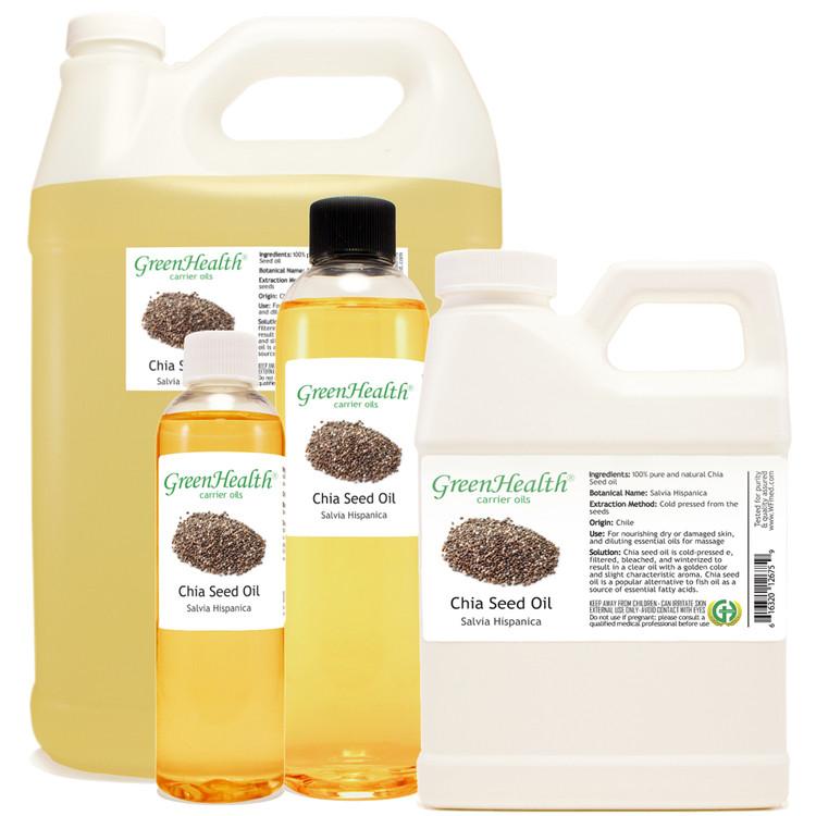 Chia Seed oil 1oz 2oz 4oz 8oz 16oz 32oz