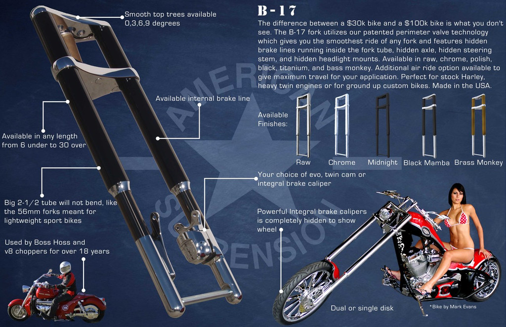 B-17 Inverted Front Fork