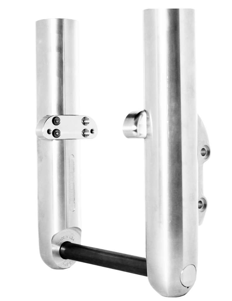 Chrome Finish Bagger Legs