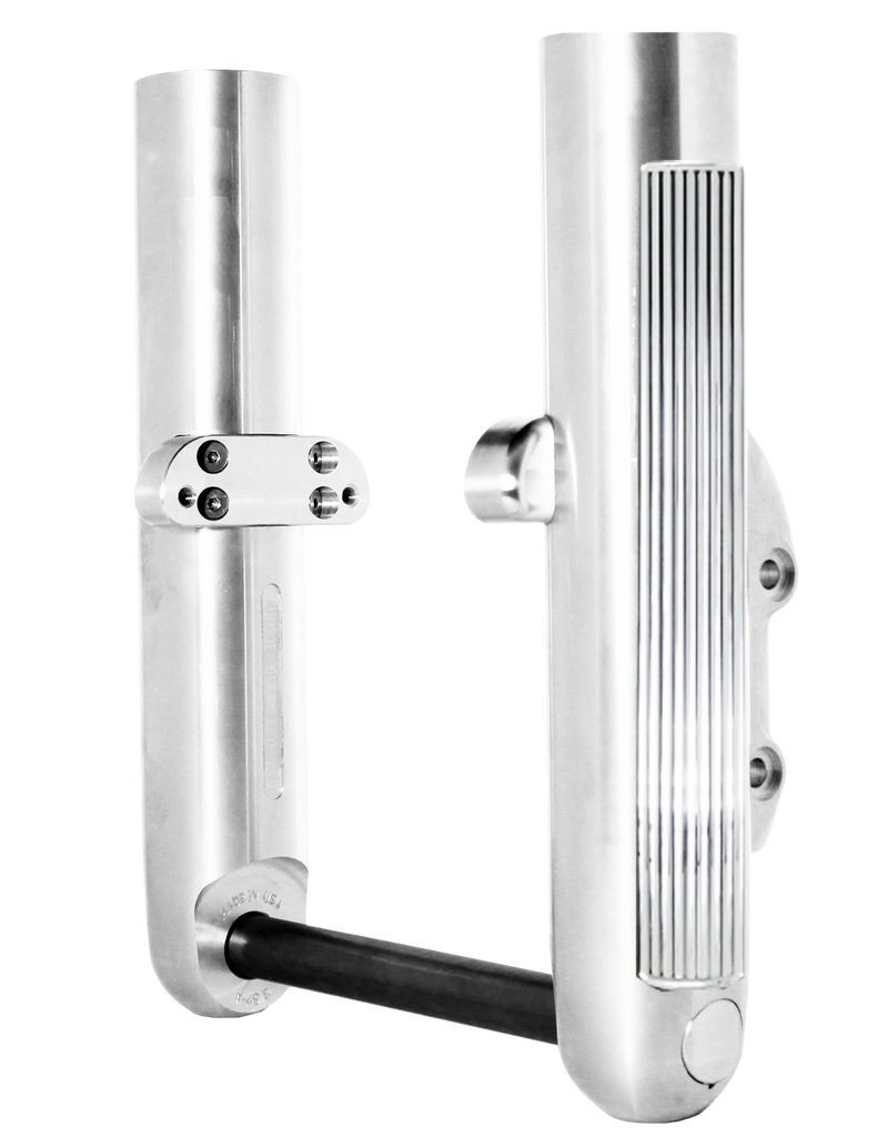 Parabellum Chrome Finish Bagger Legs