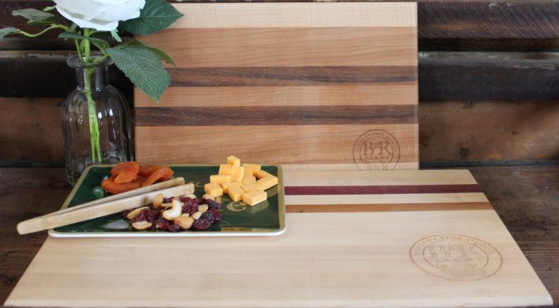 B & R Farms Signature Wood Cutting Board 16 x 10 x 1