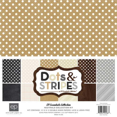 Dots & Stripes Neutral