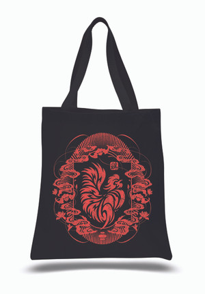 """Year of the Rooster 2017"" Canvas Tote Bag"