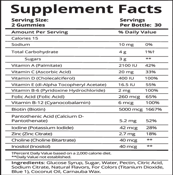 SugarBearHair Vitamins - 3 Month Supply