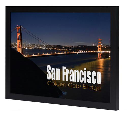 12X18 Poster Frame with Plexiglas Front, Golden Gate Bridge Gallery ...