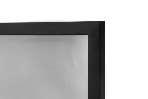 22x34 Poster Frame, Pre-Assembled Black Wood Composite, Golden Gate ...