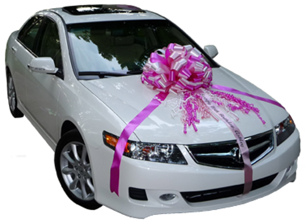 """Large Car Bows - 20 & 24"""" Handcrafted"""