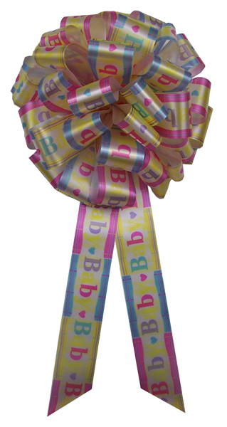 "12"" Big Baby Bows - It's a Baby!"