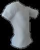 White Short Sleeve Rash Guard